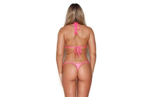 Mini Two Tone Sheer Pink Bottom