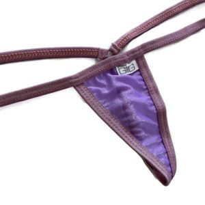 Lilac Sparkle Sheer Mini G-String