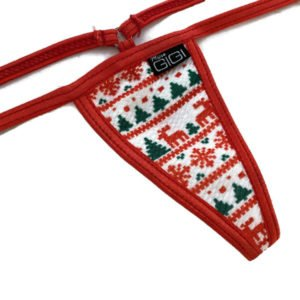 Mini Christmas Ugly Sweater G-String 1